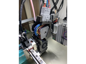 Almost Direct Drive Extruder with 12pin Quick Connect