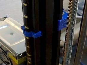 LED strip clip for 20mm profile rail