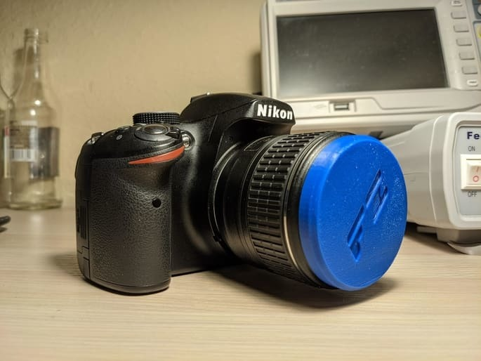Nikon 55mm Front Lens Cap (No springs - Fits outside of the lens)