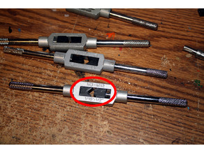 Tap Wrench Replacment Jaw Set