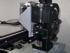 Ender 3 direct Titan Extruder with E3D Volcano hotend and two 5015 blower
