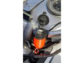 12V motorcycle/car USB Adapter Case