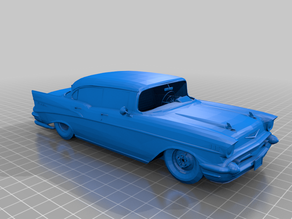 55-57 Chevy ( RAW Unfinished 3D Files )