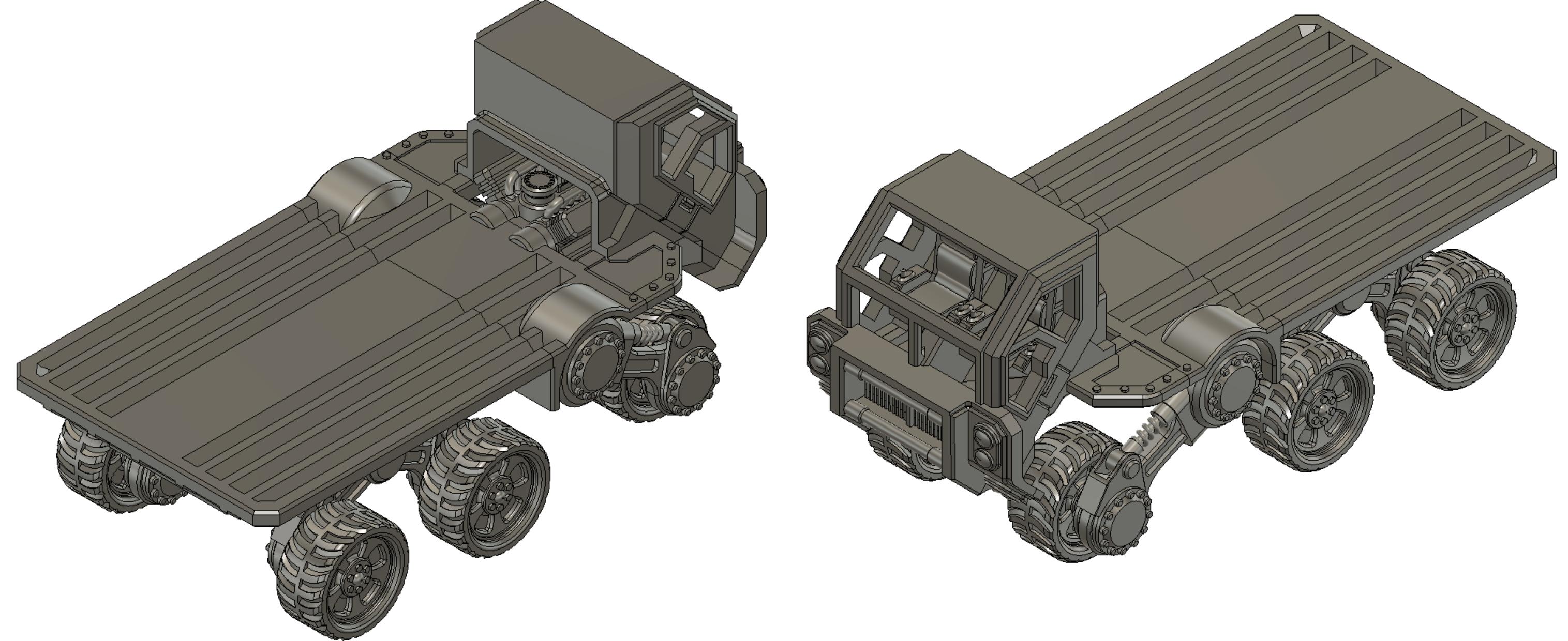 40K Necromunda vehicles V2