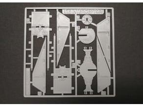 Tie Fighter Interceptor Kit Card