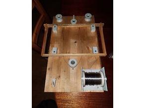 bee frame wiring jig