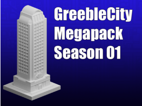 GreebleCity Season 1 Megapack