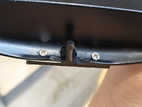Brabantia Touch Bin G 25l - Lid Repair/Upgrade to replaceable pin