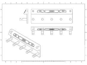 Audi A6 C5 Keyholder