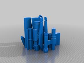 Mandalorian+Rifle+Ender3_Bed Complete