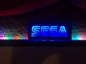 Sega Light box