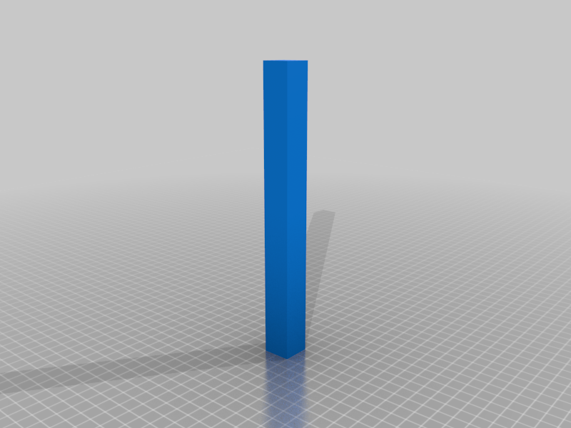 20x100x20 mm Test Tower