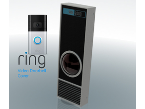 Carlz Hal 9000 1:1 Working Ring Doorbell Cover or Movie Prop!