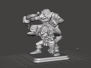 HeroQuest - Goblin Archer Tag Team