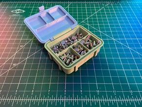 4 Compartment Rugged Storage Box