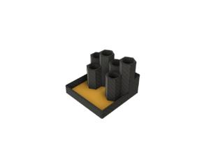 Hexagon Pen Holder / Desktop Organizer