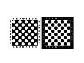 Chess Board lasercut