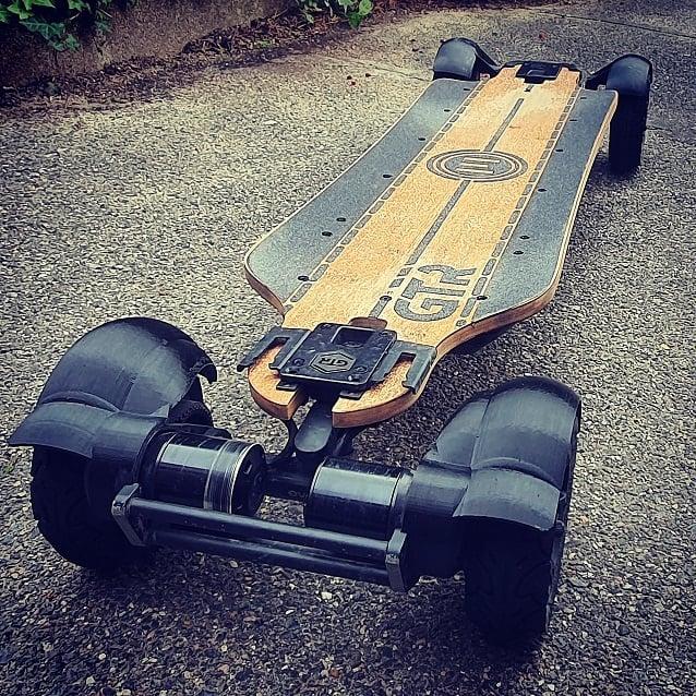 Rear Splashguards for Evolve GTR 6inch wheels