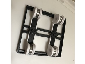 Bearing Spool Holder with Adjustable Platform