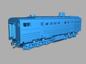3TE10M diesel locomotive
