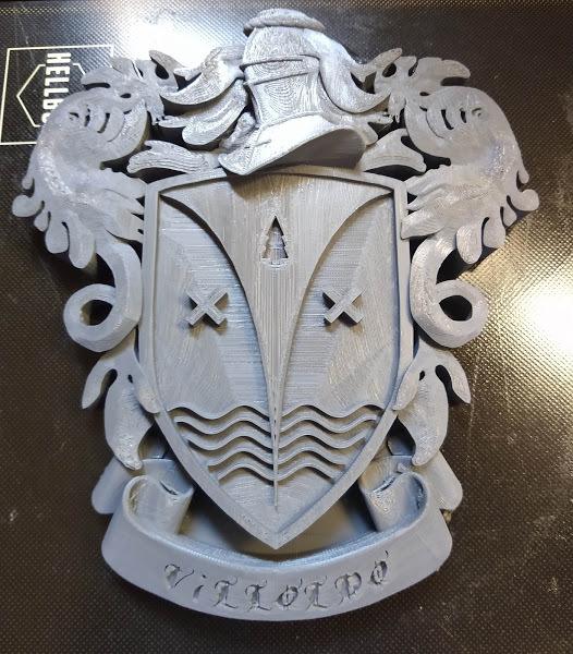 Heraldry Crest Villoldo