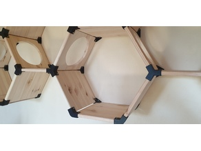 Hexagonal Winkel