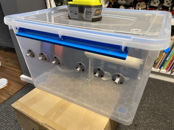 Filament Enclosure using Bunnings Parts (Australia)