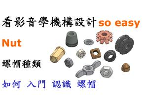 Nut types and specifications / 螺帽種類規格