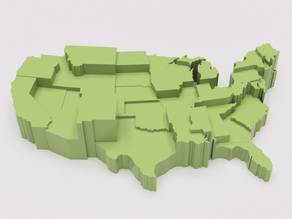 Federal Aid in Billions per Million People For Each State
