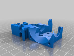 Prusa i3 MK3S+ extruder body - BLTouch