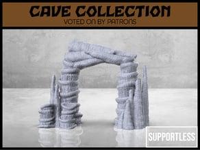 Cave Entrance - Version 1 - Tabletop Scatter Terrain