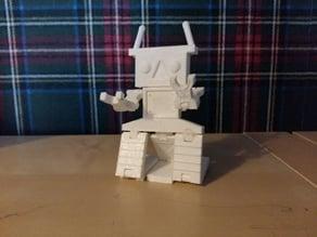 Creditcard sized robot