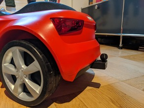 Audi Bobby Car Trailer / Towing Hitch