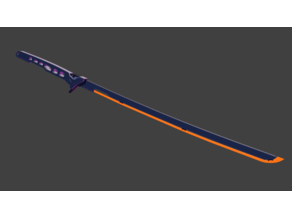 Arasaka Thermal Katana - Cyberpunk 2077
