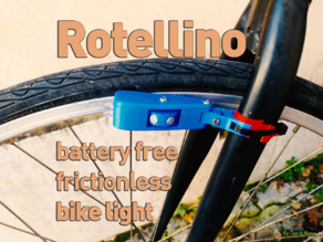 Rotellino -  Battery Free Contactless Bike Light