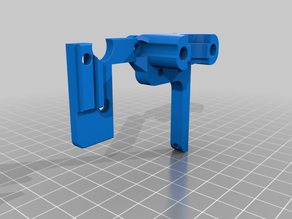 Adjustable BLTouch Mount for Ender 3 with E3D Hotend