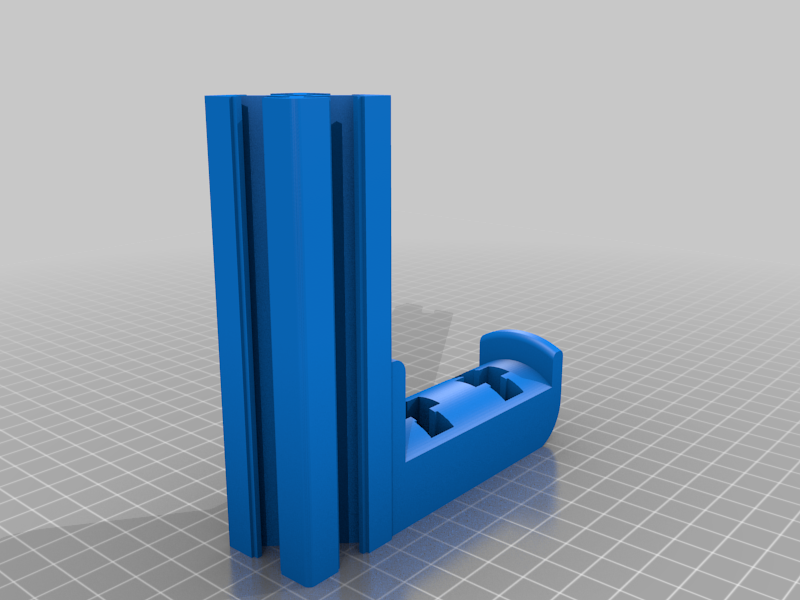 Top down spool holder incl. 3030 profile