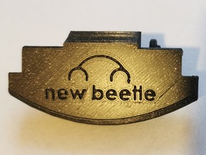 Volkswagen Beetle Armrest Handle - With Beetle logo