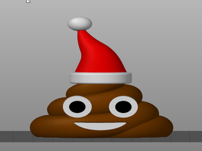 Poop Emoji Santa Hat MMU