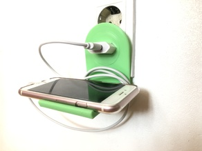 Iphone charge holder
