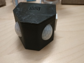 2 PIR Enclosure - Boitier 2 PIR - Wemos D1 Mini