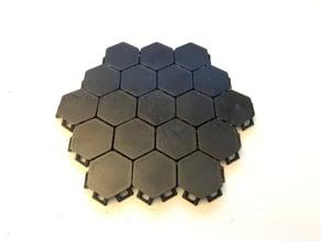 "Hexagonal Linked ""Fabric"""