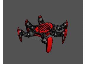 Sword leg Hexapod Robot