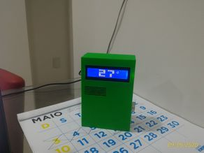 Real Time Clock with Big Display