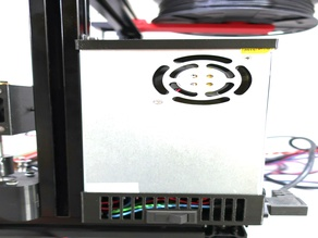 bLab PSU Cover and wiring