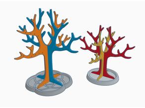 Jewelry tree x2 Capacity symmetric XL