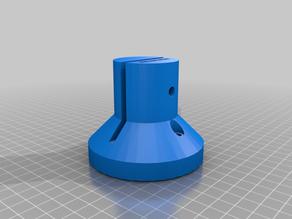4.5 Plexiglass counter mount