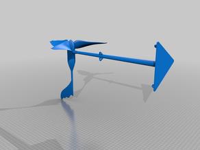 Nano Wind Turbine - Working Model