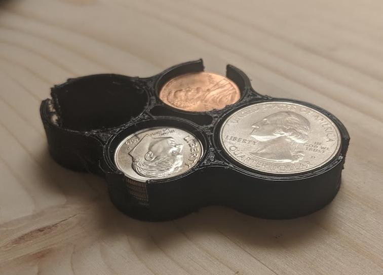 Pocket Coin Organizer (TPU)