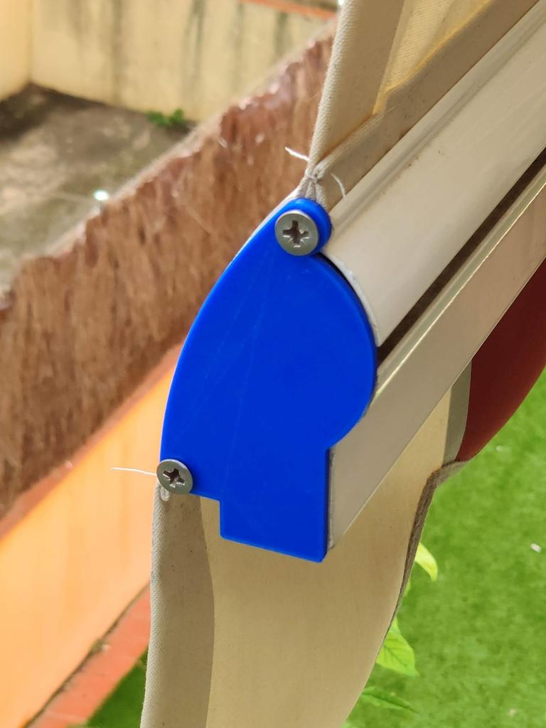 Awning profile cover